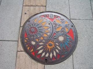 マンホール松本2