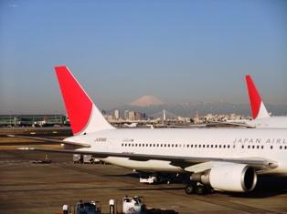 2011.3.11.の羽田空港