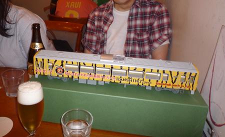 HINODE MODEL タイガース応援列車