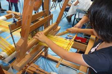 ミンサー織り体験