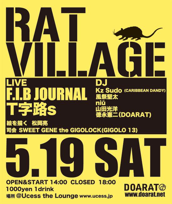 rat village