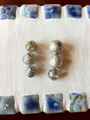 platinum foil beads