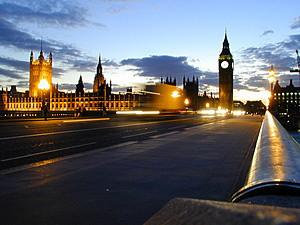 フリー素材より ロンドンの景色