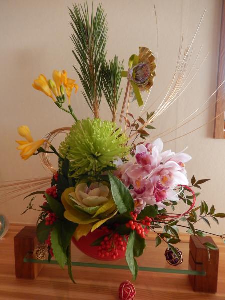 平成26年 元旦の花