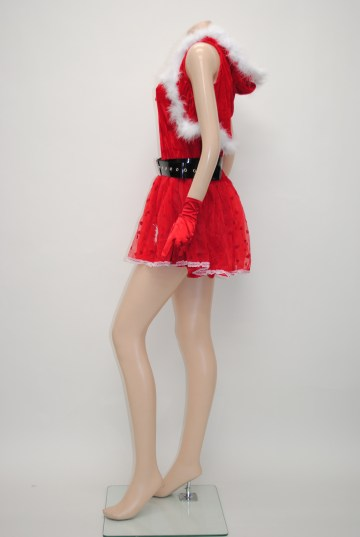 snowポイントサンタ ワンピースドレス