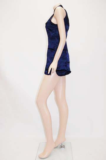 小花柄チャイナ ショートドレス