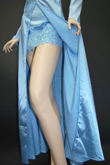 セクシー美脚スプリング ロングドレス