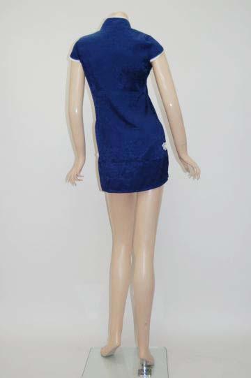 胸元セクシーチャイナ ショートドレス