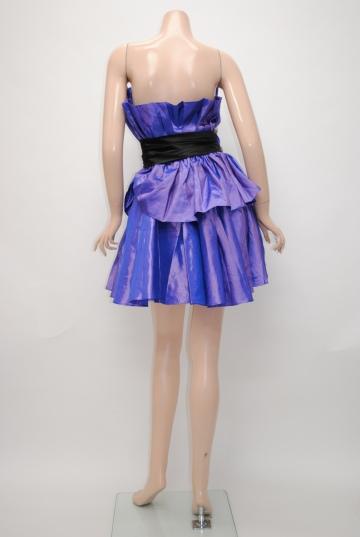 ゴージャスフラワー ショートドレス