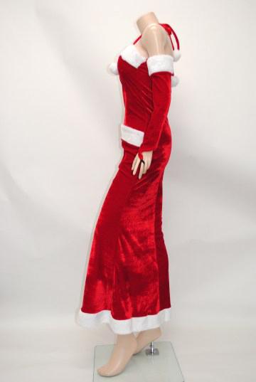 ホルターマーメイド ロング サンタドレス