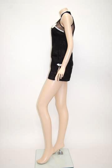 ラインチャイナ ショートドレス