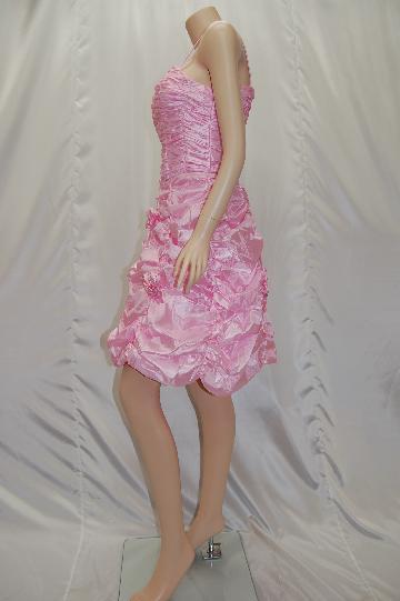 ギャザーふわふわバルーン ショートドレス