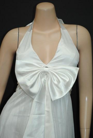 姫リボンチュールレース ロングドレス
