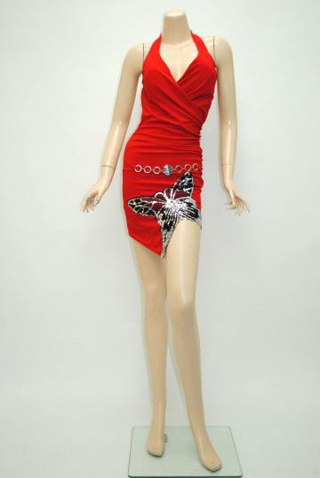 キラキラ☆アゲハ ショートドレス