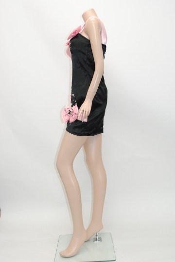 かわいいリボン&ラインストーン ショートドレス