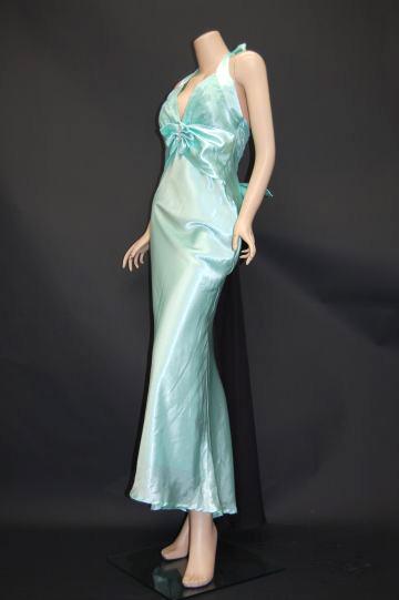 バブリーリボン☆トレーン ロングドレス