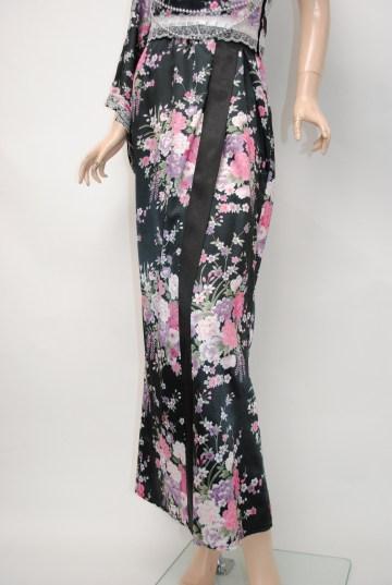 ワンショルダー 姫系花魁風 ロング 着物ドレス
