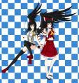 Aya&Reimu1