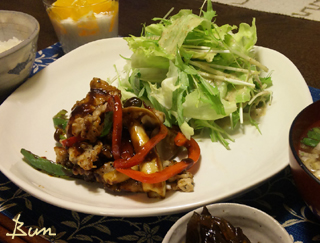 May13_豚肉と野菜の味噌炒め