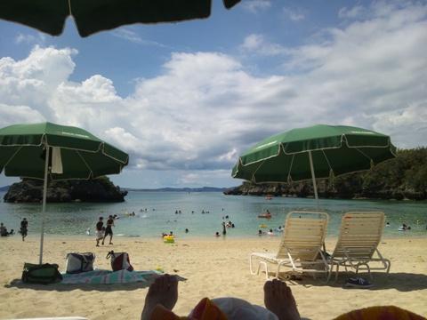 伊計島ビーチ01(2013.08.10)