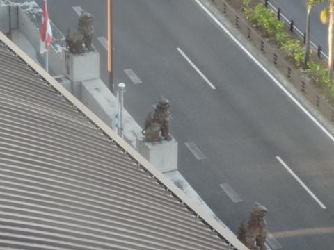 郵便局のシーサー03(2013.08.12)