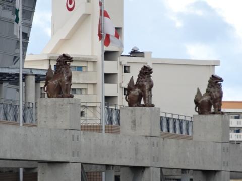 郵便局のシーサー04(2013.08.12)