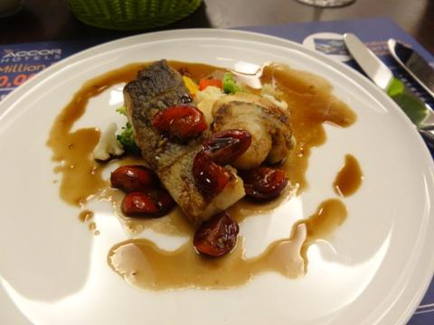ダーリンの魚料理(2013.08.12)