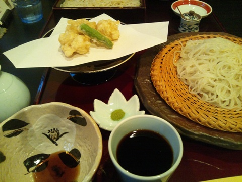 たちの天ぷら蕎麦(2013.11.04)