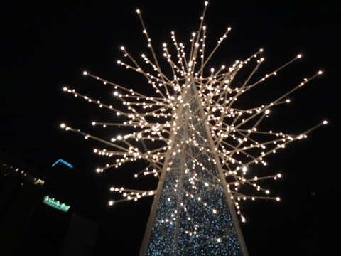 クリスマス市のオブジェ(2013.12.01)