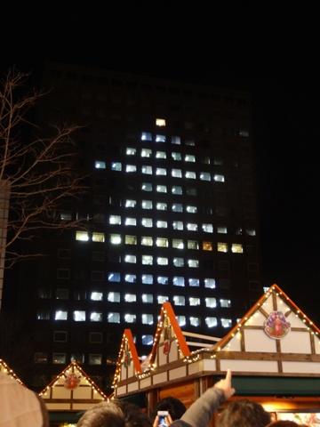 市役所ツリー(2013.12.07)