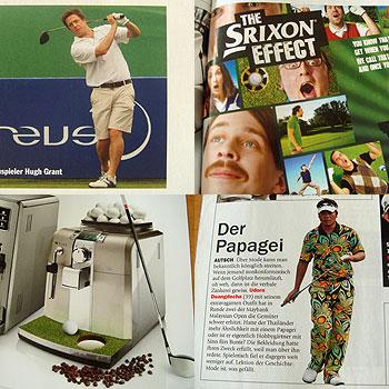 ドイツのゴルフ雑誌も楽しいな