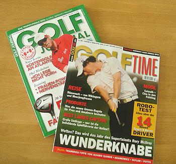 ドイツのゴルフ雑誌!