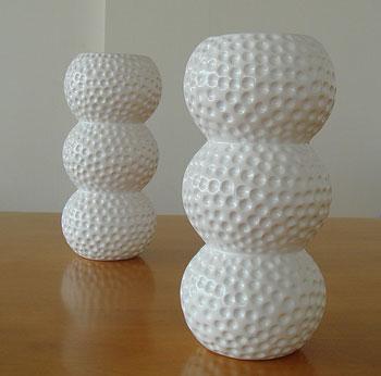 ゴルフボールの花瓶です!