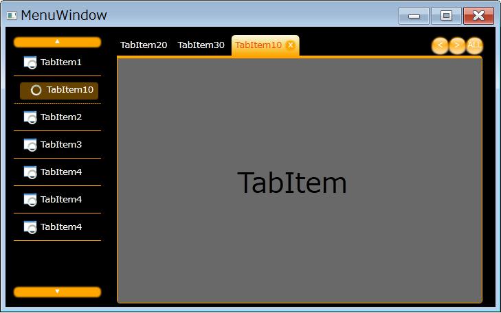 プログラミング日記 WPF-MENU(TreeView)