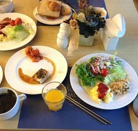 私の朝食^^