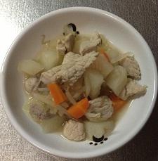 豚大根の煮物