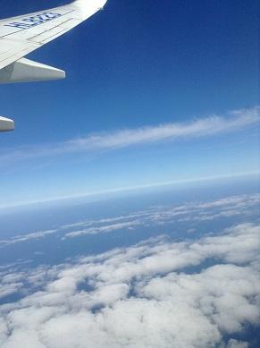 新潟の空でーす^^