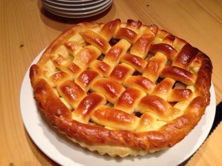 桃まま作アップルパン
