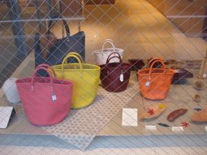 京都デザインハウス ショーウィンドウ バッグ