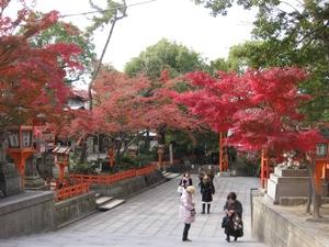 八坂神社秋
