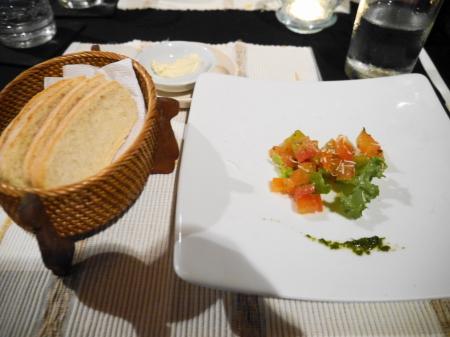モナリサ アミューズとパン