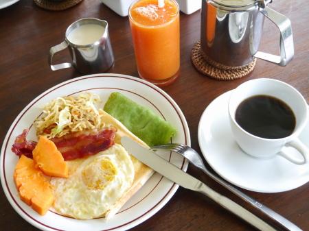 チェンダナ 朝食