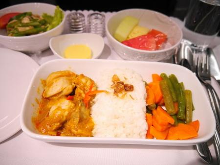 マレーシア航空夕食