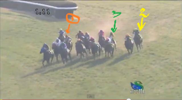 2013京都牝馬S4角