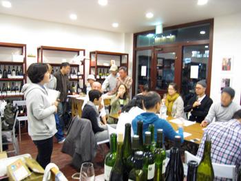 Wさんワイン会 01