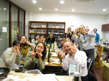 Wさんワイン会 02
