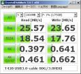 T420-USB3.0ケーブルベンチ