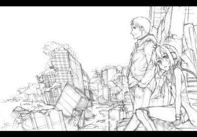 廃墟とデジカメ