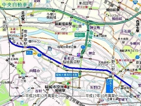 南武線連続立体交差事業01