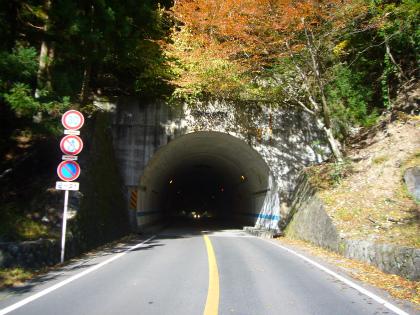 昇仙峡の隧道群08